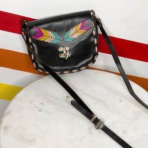 NEW Tricia Fix Dakota Leather Crossbody Bag